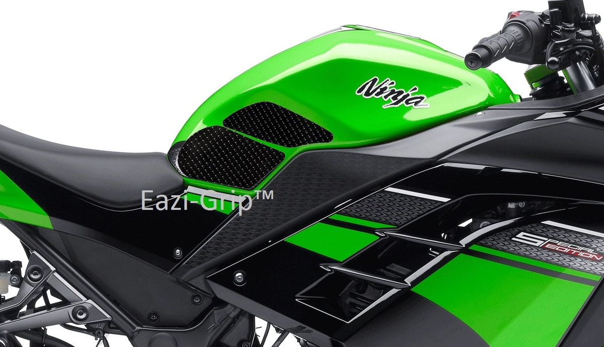 Eazi-Grip Kawasaki Ninja 300 Black 2013-2015 2