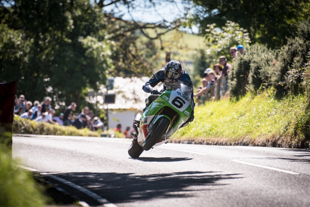 Dan Kneen at the Top of Barregarrow