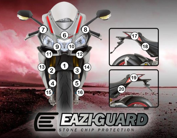 Eazi-Guard Background with Aprilia RSV4 2015-2017 for Listing