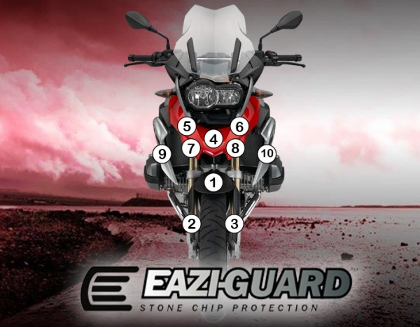 Eazi-Guard Background with BMW R1200GS 2014-2016 for Listing