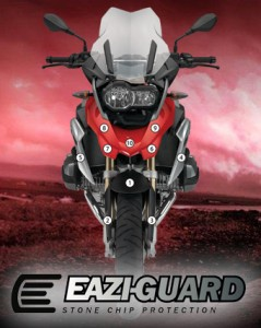 Eazi-Guard Background with BMW R1200GS