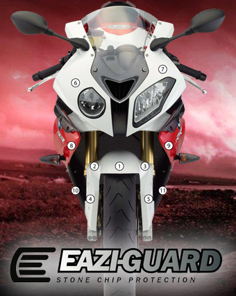 Eazi-Guard Background with BMW S1000 11-14