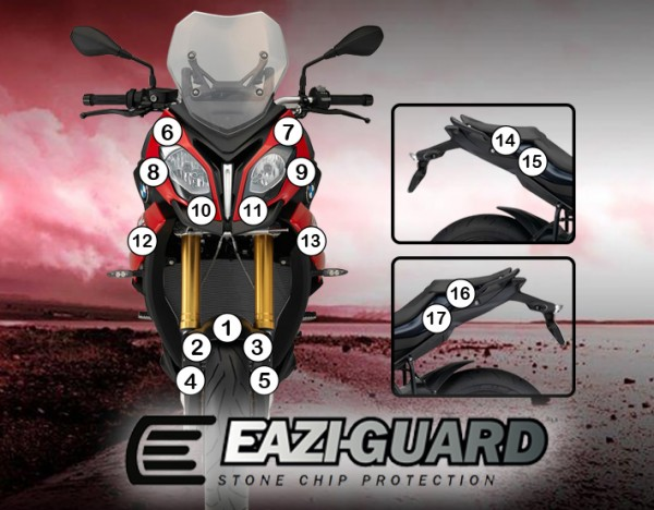 Eazi-Guard Background with BMW S1000XR 2015-2017 for Listing