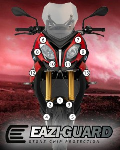 Eazi-Guard Background with BMW S1000XR