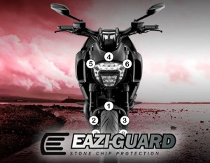 Eazi-Guard Background with Ducati Diavel 2011-2017 for Listing