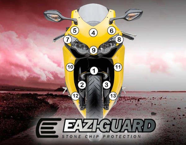 Eazi-Guard Background with Honda CBR1000RR 2008-2011 for Listing
