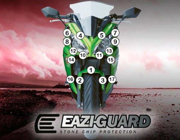 Eazi-Guard Background with Kawasaki ER6F 2012-2017 for Listing