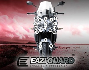 Eazi-Guard Background with Kawasaki Versys 650 2015-2017 for Listing
