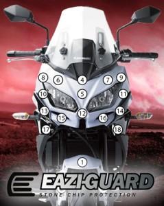 Eazi-Guard Background with Kawasaki Versys 650