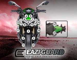 Eazi-Guard Background with Kawasaki Z1000 2014-2017 for Listing