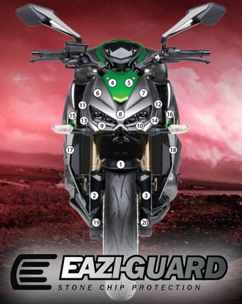 Eazi-Guard Background with Kawasaki Z1000