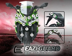 Eazi-Guard Background with Kawasaki Z1000SX 2014-2016 for Listing