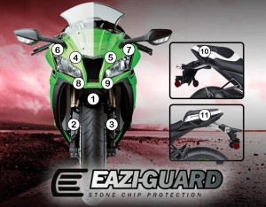 Eazi-Guard Background with Kawasaki ZX10R 2011-2015 for Listing