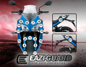 Eazi-Guard Background with Suzuki GSX-S1000F 2015-2017 for Listing