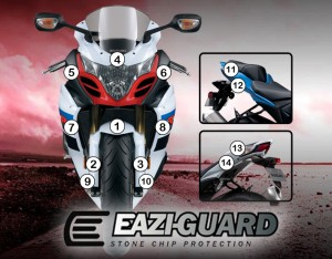 Eazi-Guard Background with Suzuki GSXR1000 2009-2016 for Listing