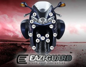 Eazi-Guard Background with Triumph Sprint GT 2010-2017 for Listing