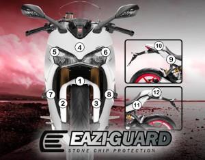 GUARDDUC007 Eazi-Guard Background with Ducati Supersport 2017-