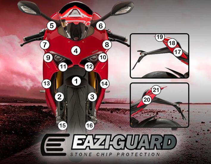 Eazi Guard Ducati V4 Panigale 2018 Eazi Grip Eazi Guard