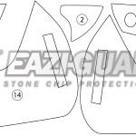 GUARDDUC010 Ducati Multistrada 1260 1260S 2018 BOXED