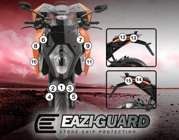GUARDKTM004 Eazi-Guard Background with KTM 1290 Superduke GT 2016-2018 for Listing