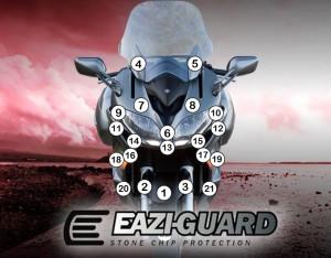 GUARDYAM006 Eazi-Guard Background with Yamaha FJR1300A 2014-2018