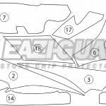 GUARDYAM006 Yamaha FJR1300A 2014-2018 BOXED