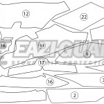 GUARDYAM007 Yamaha FJR1300AE AS 2014-2018 BOXED