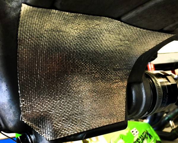 HEAT SHIELD SUMP