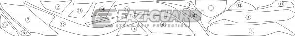 Kawasaki ER-6F 2012-2017 BOXED