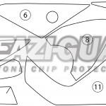 Kawasaki GTR1400 2014-2017 BOXED