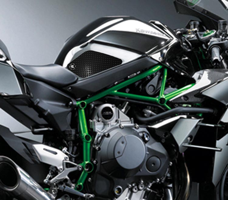Eazi-Grip Kawasaki Ninja H2/H2R Black 2015 2