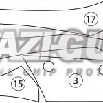 Kawasaki Z800 2013-2016 BOXED