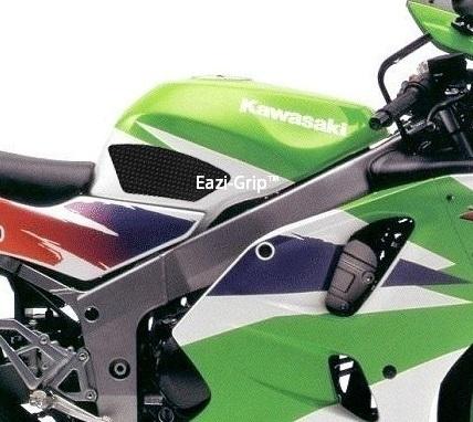 Eazi-Grip Kawasaki ZX6R Black 1995-1997 2