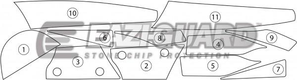 Kawasaki ZX10R 2011-2015 BOXED