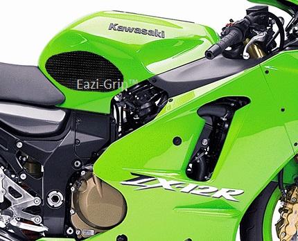 Eazi-Grip Kawasaki ZX12R Black 2000-2006 2