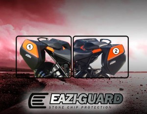 PANNIERKTM001 Eazi-Guard Background with KTM Superduke GT 2016-2018 Panniers for Listing
