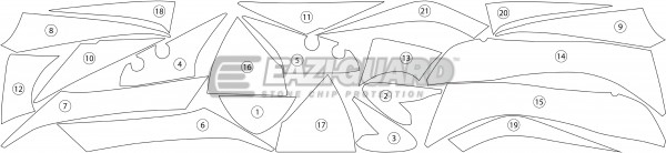 Suzuki GSX-S1000F 2015-2017 BOXED