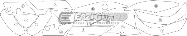 Suzuki GSXR1000 2009-2016 BOXED
