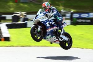 2017 British Superbike Championship, BSB R08, Cadwell Park, Lincolnshire, UK. 18th August 2017. Andy Reid, IRL, Tyco BMW Motorrad