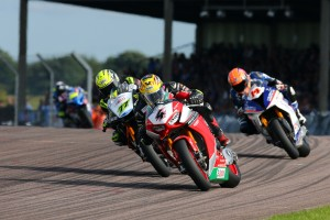 2017 British Superbike Championship, BSB R07, Thruxton, Hampshire, UK. 6th August 2017. Daniel Linfoot, Knaresborough, Honda Racing