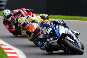 2017 British Superbike Championship, BSB R08, Cadwell Park, Lincolnshire, UK. 20th August 2017. Andy Reid, IRL, Tyco BMW Motorrad