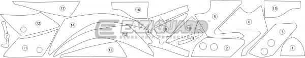 Yamaha YZF-R125 2014-2017 BOXED