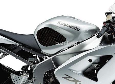 Eazi-Grip Kawasaki ZX6R (636) Black 2003-2004 2