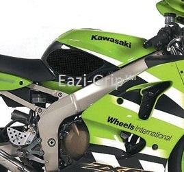 Eazi-Grip Kawasaki ZX6R 2000-2002 Black 2